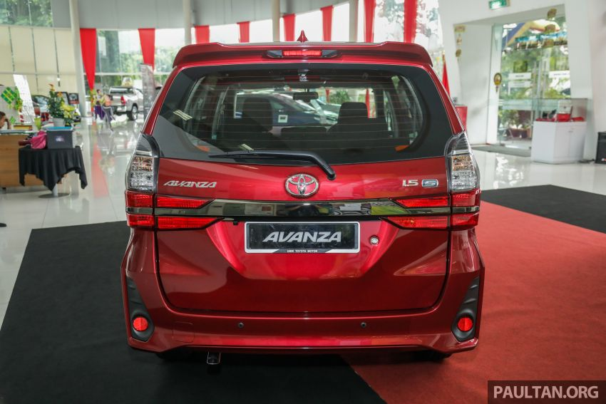 GALLERY: 2019 Toyota Avanza facelift on display at PJ showroom – 1.5S from RM83,888, 1.5E from RM80,888 Image #959976