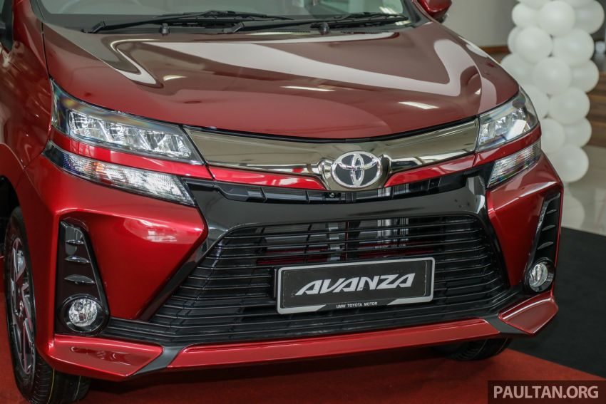 GALLERY: 2019 Toyota Avanza facelift on display at PJ showroom – 1.5S from RM83,888, 1.5E from RM80,888 Image #959977