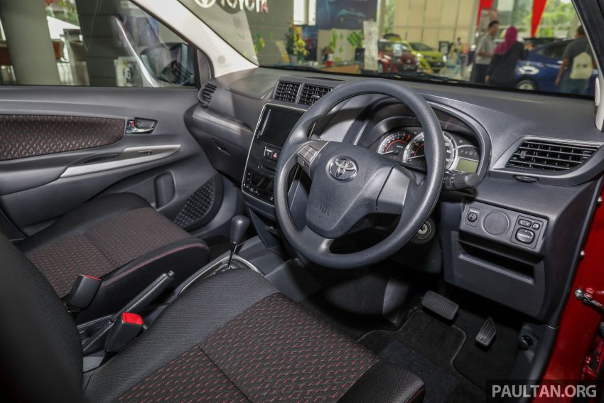 GALLERY: 2019 Toyota Avanza facelift on display at PJ showroom – 1.5S from RM83,888, 1.5E from RM80,888 Image #959999