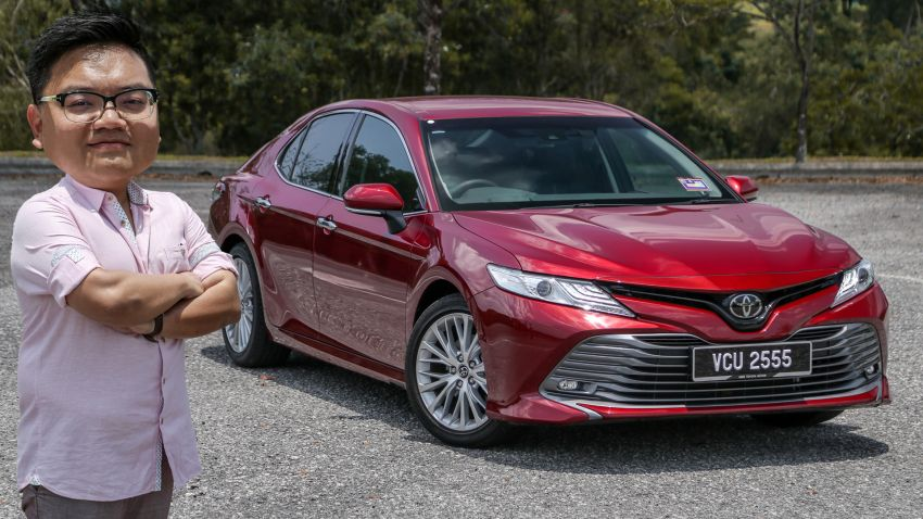 FIRST DRIVE: 2019 Toyota Camry 2.5V – RM190k Image #960210