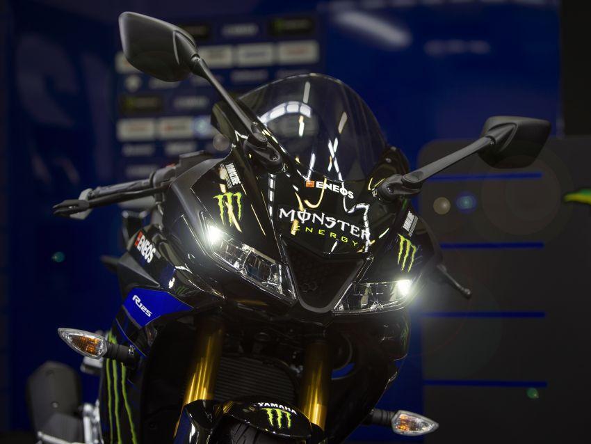 2019 Yamaha YZF-R125 gets Monster MotoGP livery Image #958739