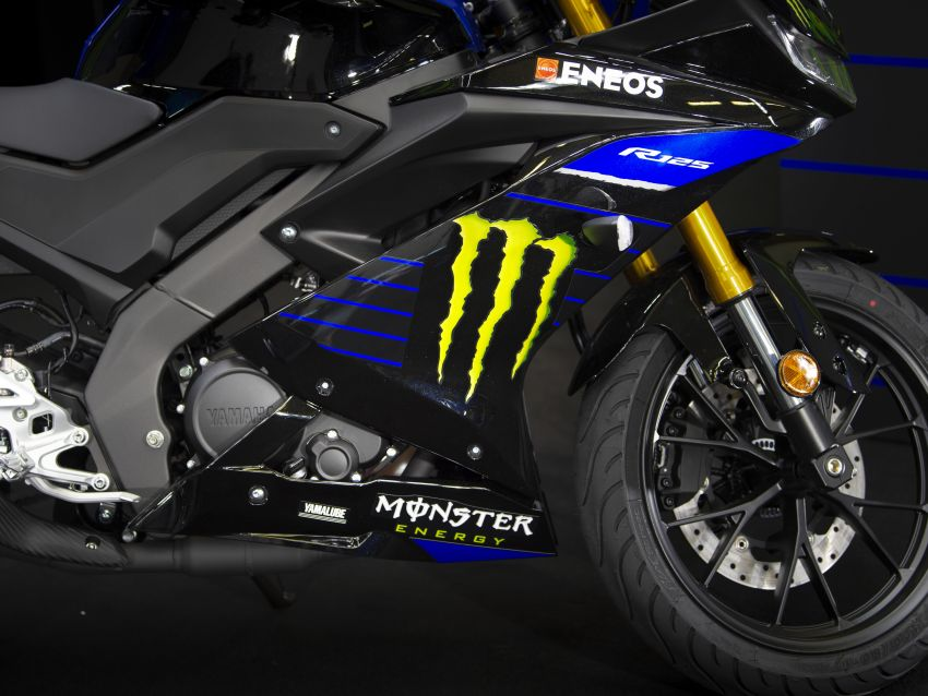 2019 Yamaha YZF-R125 gets Monster MotoGP livery Image #958741