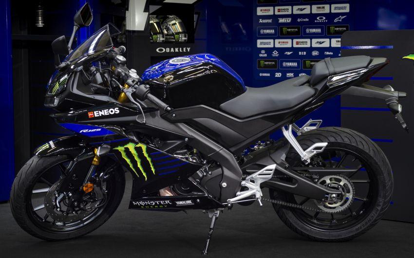 2019 Yamaha YZF-R125 gets Monster MotoGP livery Image #958732