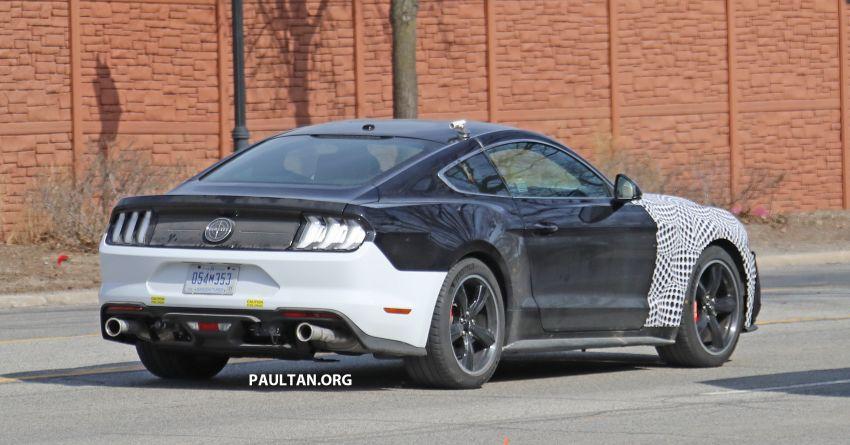 SPIED: 2020 Ford Mustang Bullitt – facelift model due? Image #960951