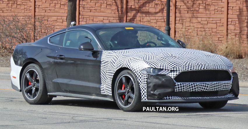 SPIED: 2020 Ford Mustang Bullitt – facelift model due? Image #960944