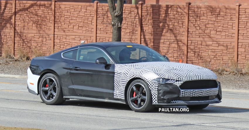 SPIED: 2020 Ford Mustang Bullitt – facelift model due? Image #960945