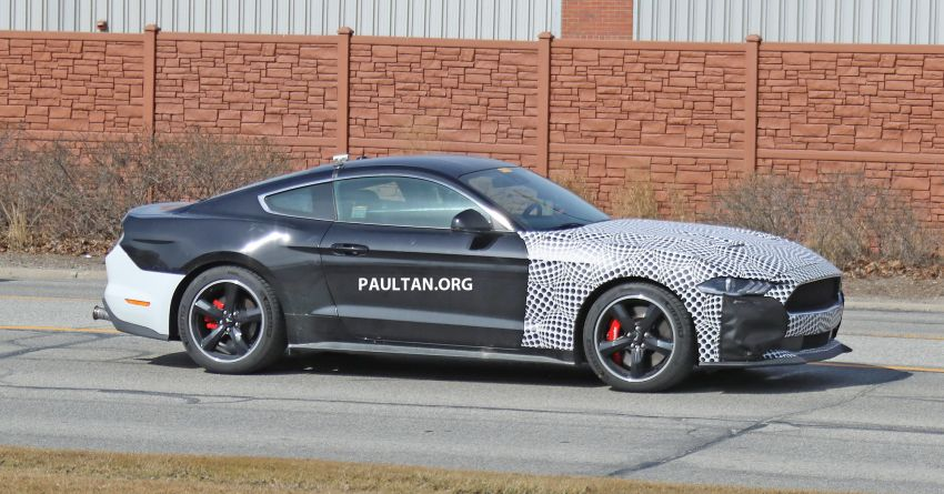SPIED: 2020 Ford Mustang Bullitt – facelift model due? Image #960947