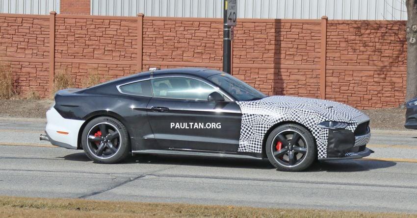 SPIED: 2020 Ford Mustang Bullitt – facelift model due? Image #960948