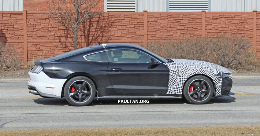SPIED: 2020 Ford Mustang Bullitt – facelift model due? Image #960950