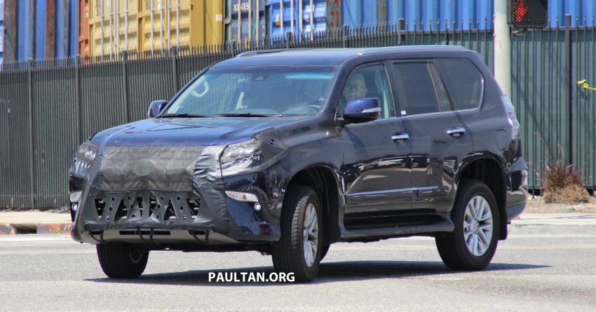 SPIED: 2020 Lexus GX spotted – to get 10-speed auto? Image #959124