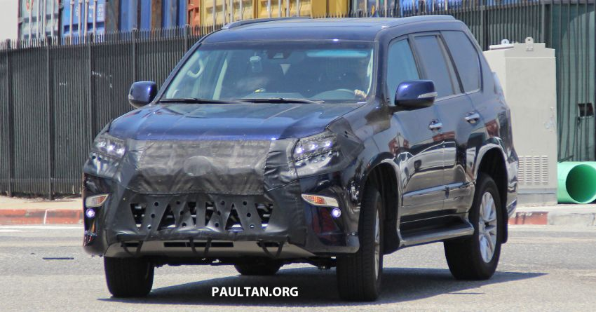 SPIED: 2020 Lexus GX spotted – to get 10-speed auto? Image #959127
