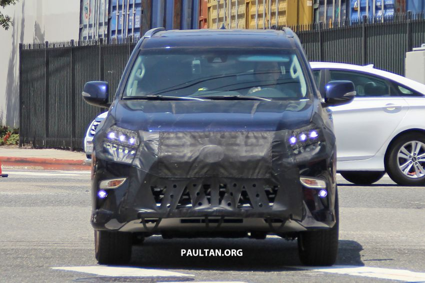 SPIED: 2020 Lexus GX spotted – to get 10-speed auto? Image #959129