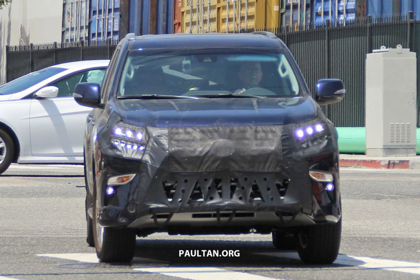 SPIED: 2020 Lexus GX spotted – to get 10-speed auto? Image #959132