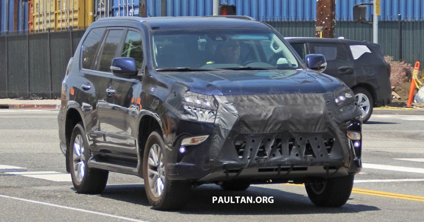 SPIED: 2020 Lexus GX spotted – to get 10-speed auto? Image #959133