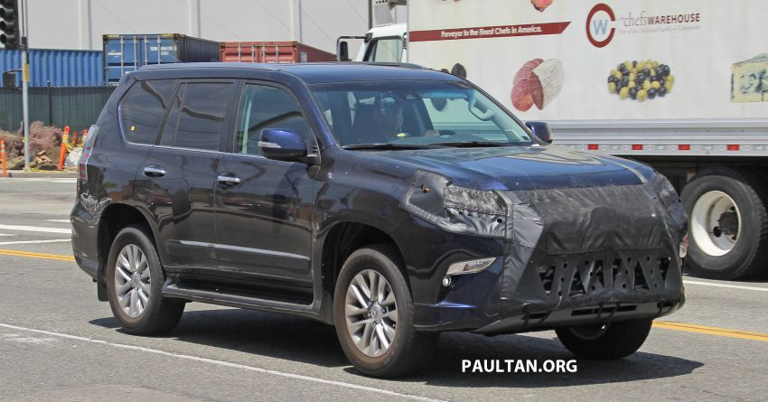 SPIED: 2020 Lexus GX spotted – to get 10-speed auto? Image #959136