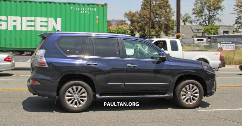 SPIED: 2020 Lexus GX spotted – to get 10-speed auto? Image #959138