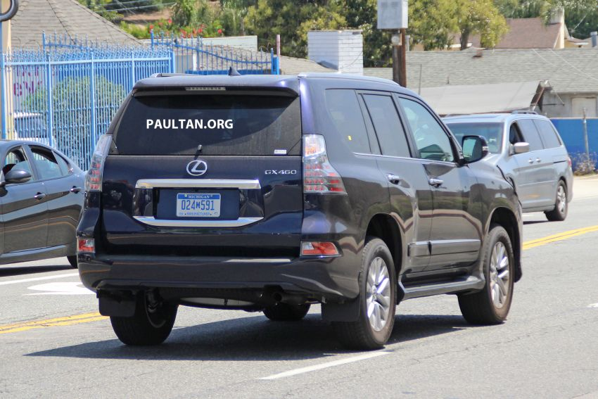 SPIED: 2020 Lexus GX spotted – to get 10-speed auto? Image #959140