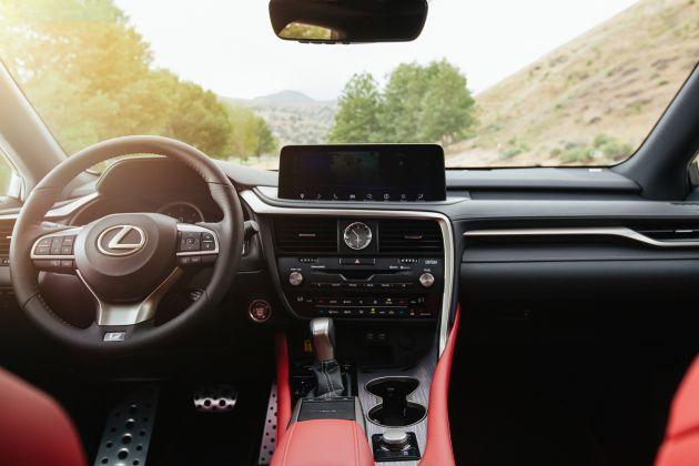 2020 Lexus RX facelift - minor nip/tuck, added tech/kit