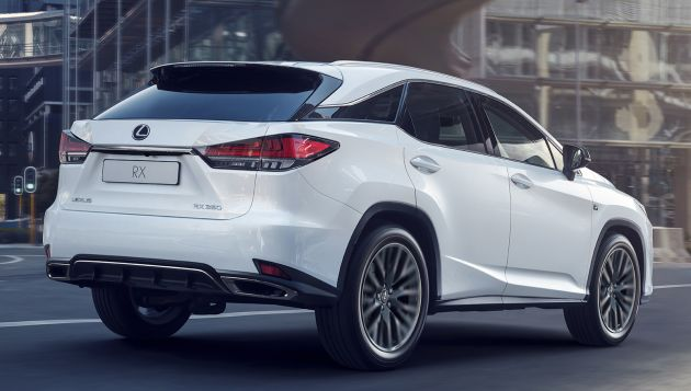 2020 Lexus RX facelift - minor nip/tuck, added tech/kit