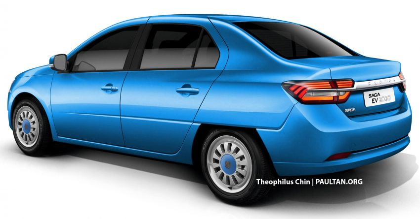 2020 Proton Saga homagE – our first national car reimagined as a modern, fully-electric concept Image #966799