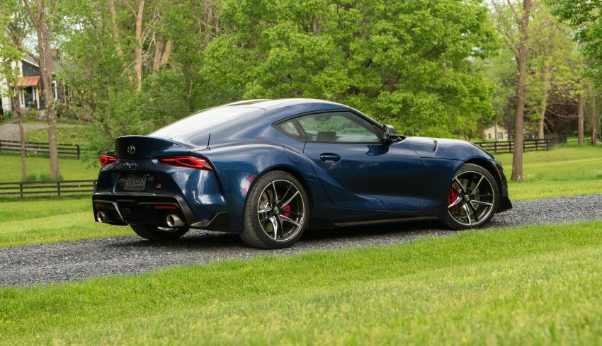 GALLERY: A90 Toyota GR Supra launched in the US Image #959032