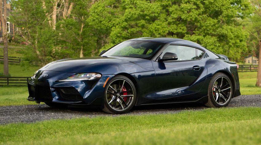 GALLERY: A90 Toyota GR Supra launched in the US Image #959033