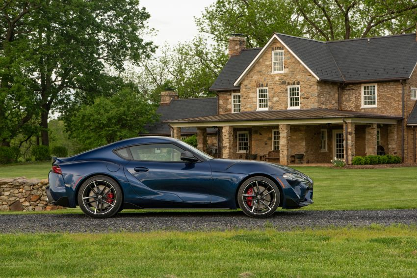 GALLERY: A90 Toyota GR Supra launched in the US Image #959034