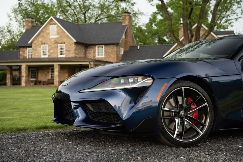 GALLERY: A90 Toyota GR Supra launched in the US Image #959036