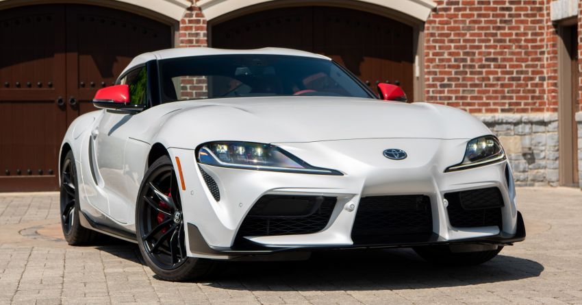 GALLERY: A90 Toyota GR Supra launched in the US Image #958948