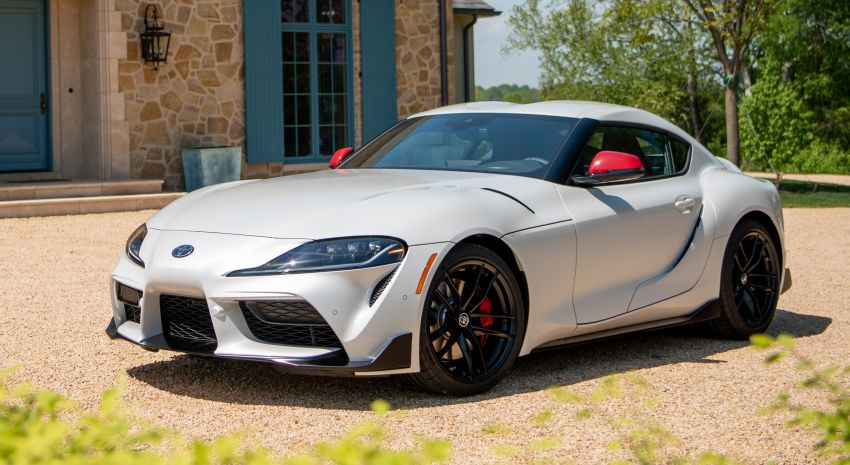 GALLERY: A90 Toyota GR Supra launched in the US Image #958958