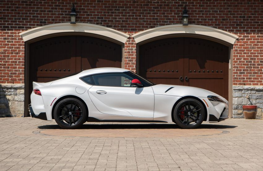 GALLERY: A90 Toyota GR Supra launched in the US Image #958949