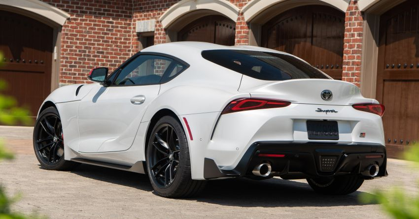 GALLERY: A90 Toyota GR Supra launched in the US Image #958950