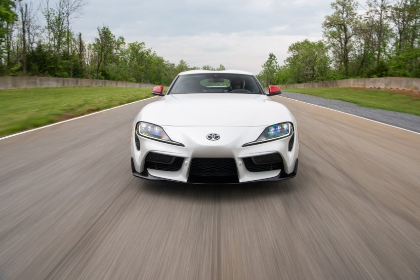 GALLERY: A90 Toyota GR Supra launched in the US Image #958952