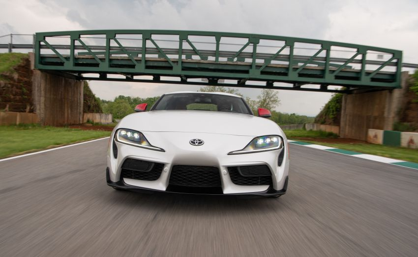 GALLERY: A90 Toyota GR Supra launched in the US Image #958953