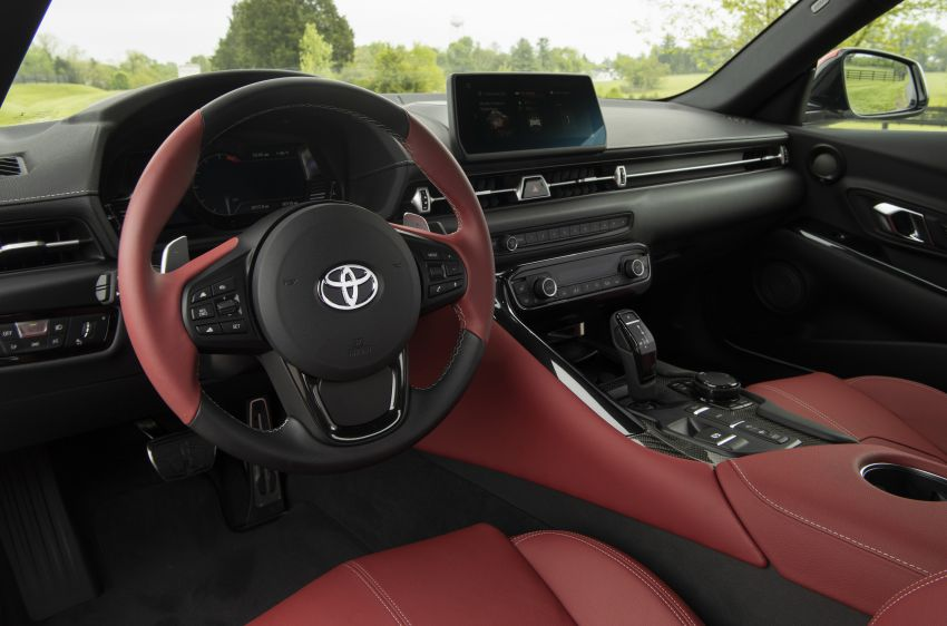 GALLERY: A90 Toyota GR Supra launched in the US Image #958982