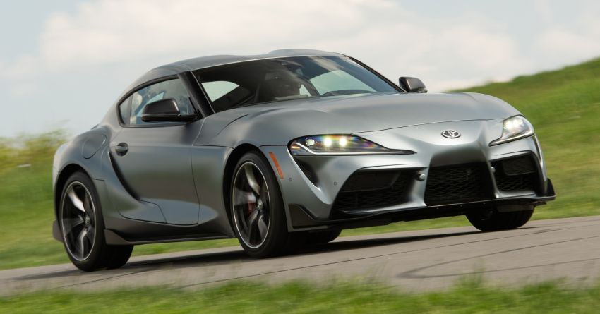 GALLERY: A90 Toyota GR Supra launched in the US Image #958989