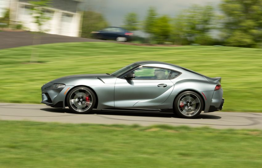 GALLERY: A90 Toyota GR Supra launched in the US Image #958991