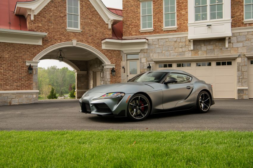 GALLERY: A90 Toyota GR Supra launched in the US Image #958997