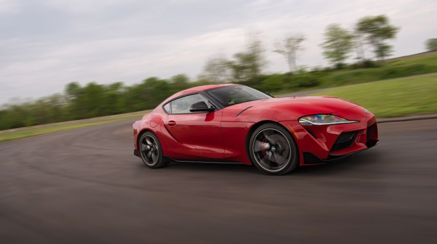 GALLERY: A90 Toyota GR Supra launched in the US Image #959004