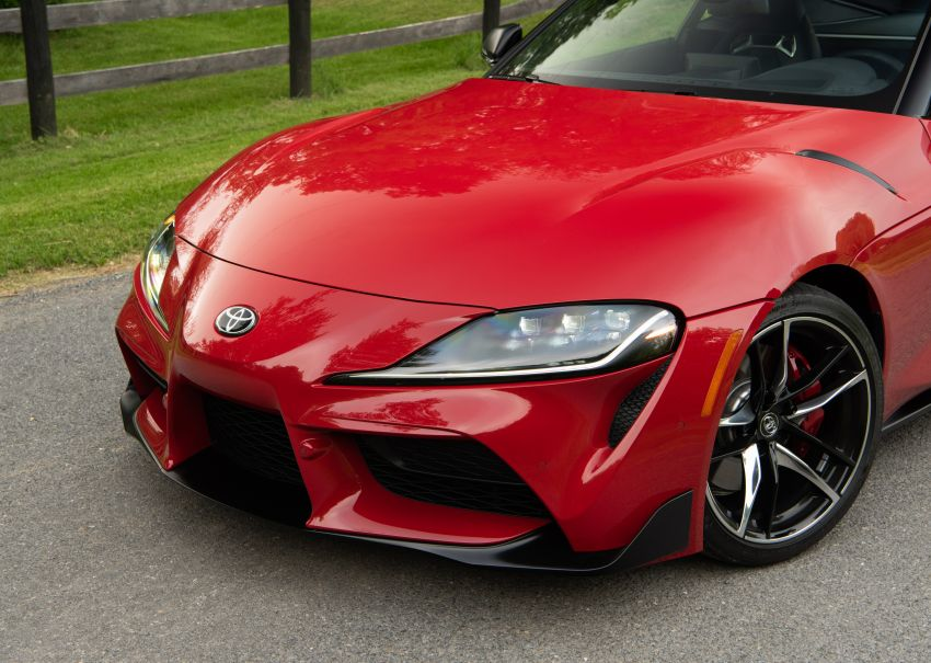 GALLERY: A90 Toyota GR Supra launched in the US Image #959017