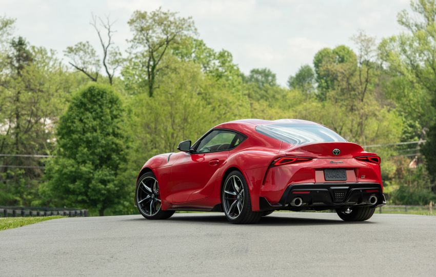 GALLERY: A90 Toyota GR Supra launched in the US Image #959018