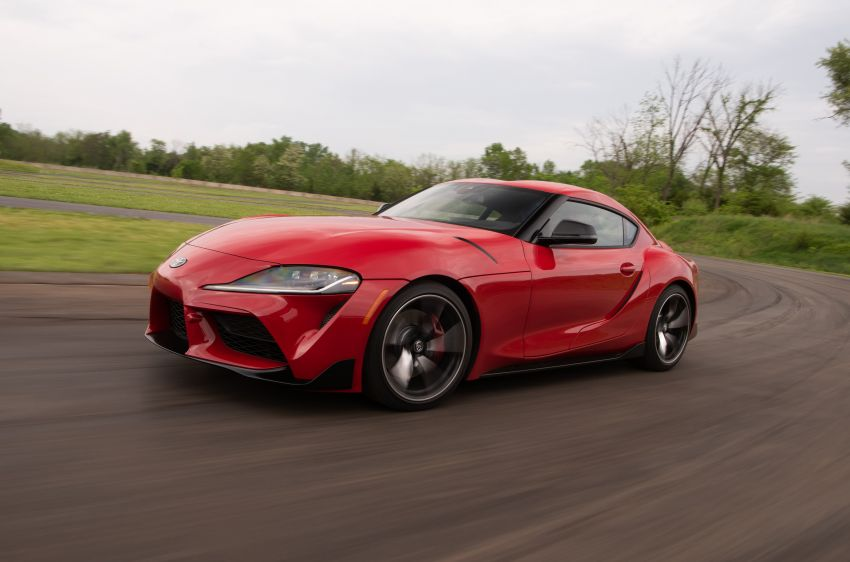 GALLERY: A90 Toyota GR Supra launched in the US Image #959005