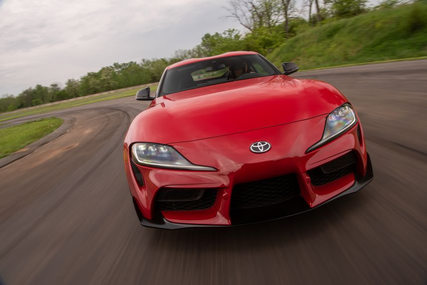 GALLERY: A90 Toyota GR Supra launched in the US Image #959006