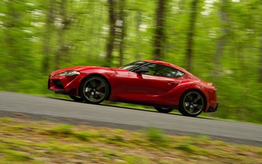 GALLERY: A90 Toyota GR Supra launched in the US Image #959007