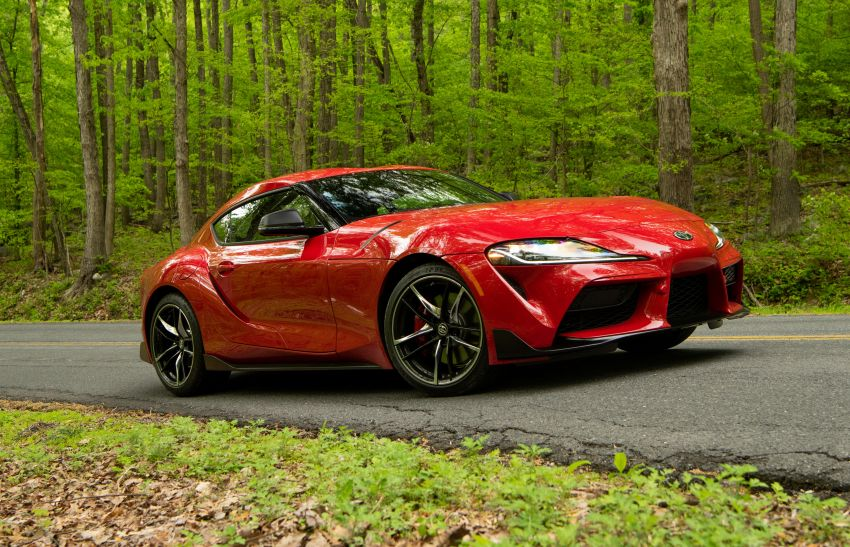 GALLERY: A90 Toyota GR Supra launched in the US Image #959008