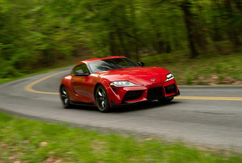 GALLERY: A90 Toyota GR Supra launched in the US Image #959009