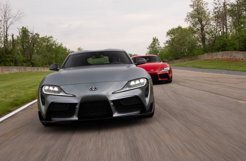 GALLERY: A90 Toyota GR Supra launched in the US Image #958946
