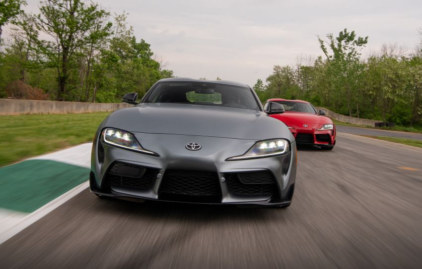 GALLERY: A90 Toyota GR Supra launched in the US Image #958947