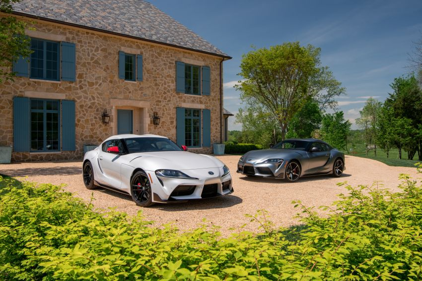 GALLERY: A90 Toyota GR Supra launched in the US Image #958937