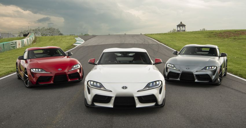 GALLERY: A90 Toyota GR Supra launched in the US Image #958938